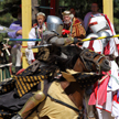 Jousting at the Colorado Renaissance Festival